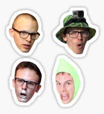 IdubbbzTV - Head Sticker Pack Sticker