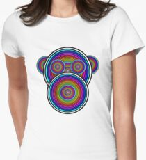 Trippy Chimp Women's Fitted T-Shirt
