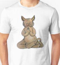 Gato Yogui Camiseta ajustada