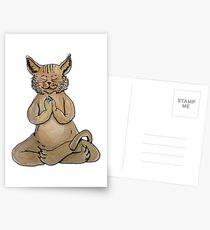 Gato Yogui Postales