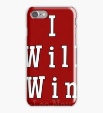 I will win AFFIRMATIONS  iPhone Case/Skin