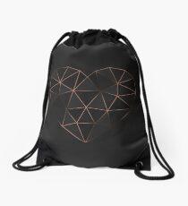 Kintsugi - Gold Rose Drawstring Bag