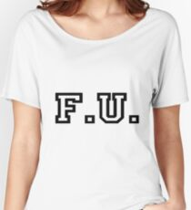FENTY UNIVERSITY Women's Relaxed Fit T-Shirt