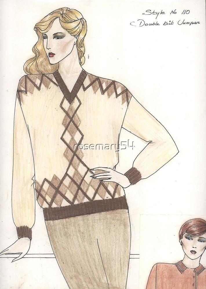 pullover design by Rosaria  D'Alessio
