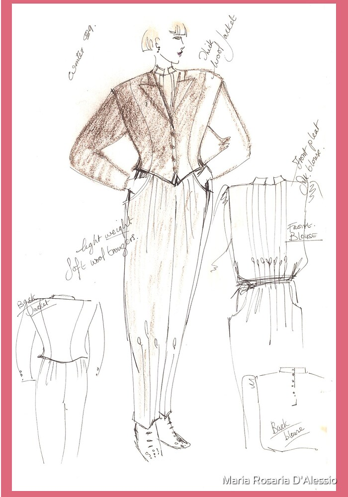 design sketch by Rosaria  D'Alessio
