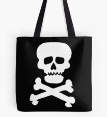 Demon Rock Skull Tote Bag