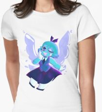 whats with this sassy lost child? Women's Fitted T-Shirt