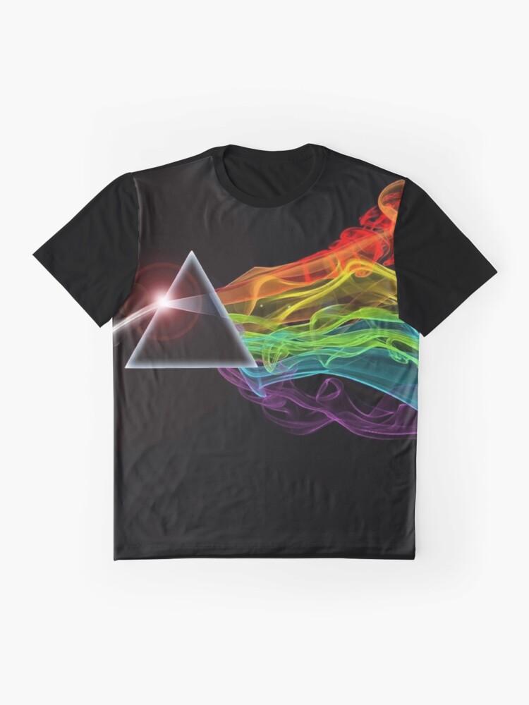 Vista alternativa de Camiseta gráfica Pink Floyd - El lado oscuro de la luna