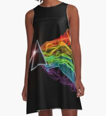 Pink Floyd – The Dark Side Of The Moon A-Line Dress