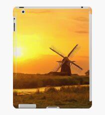 Riverside Windmill iPad Case/Skin