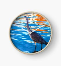 Crane on the River Shannon Clock