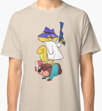 Secret Squirrel And Moroccan Mole cartoon retro Classic T-Shirt