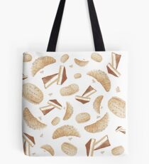 Delicious pastry (white) Tote Bag