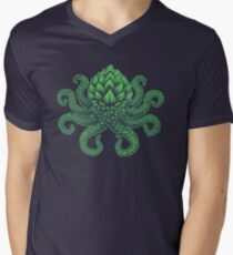 Hoptopus Men's V-Neck T-Shirt