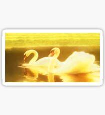 Serenity in slow motion Sticker