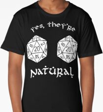 D20 - Dungeon and Dragons Long T-Shirt