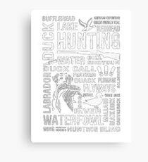 Duck Hunting tshirt Canvas Print