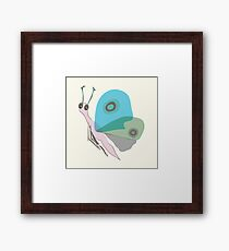 Cute Butterfly Framed Print
