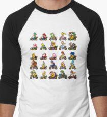 Luxurious Race Men's Baseball ¾ T-Shirt
