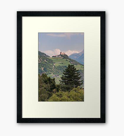 Castle Rafenstein, Bolzano, Italy Framed Print