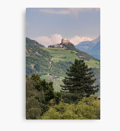 Castle Rafenstein, Bolzano, Italy Canvas Print