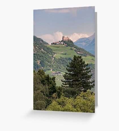Castle Rafenstein, Bolzano, Italy Greeting Card