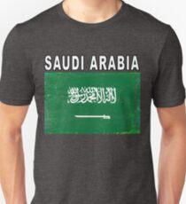 Saudi Arabia National Flag Soccer Design Unisex T-Shirt