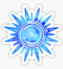 Blue Sunshine Sticker