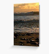 Sunset at La Push Greeting Card