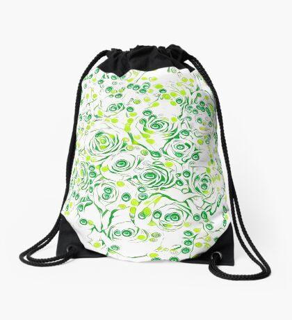 Roses Drawstring Bag