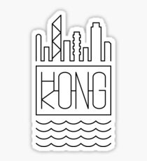 Hong Kong - City Skyline Sticker