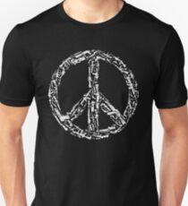 Weapon Peace black Unisex T-Shirt