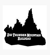 Big Thunder Blackout Photographic Print