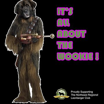 NRLC It's all about the Wookie design by nrlc
