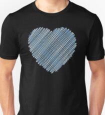 darn heart Unisex T-Shirt
