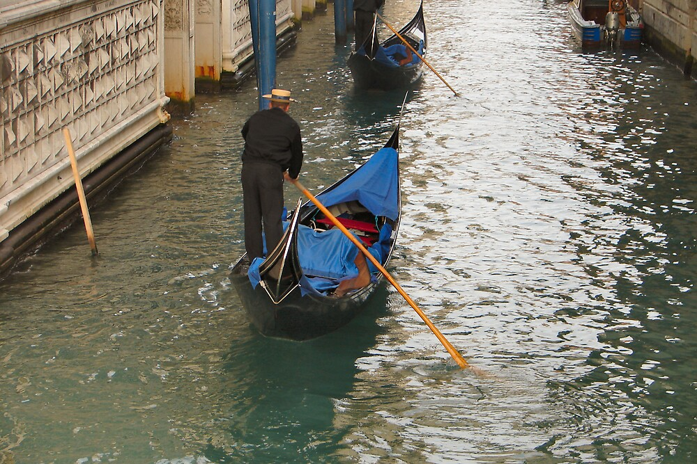 Gondola Boatman by shadyuk