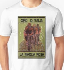 GIRO d ITALIA: Vintage Cycle Racing Advertising Print Unisex T-Shirt