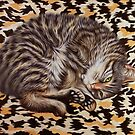 Gigi Camo - My Pet Cat by Simon Mark Knott * Simbird *