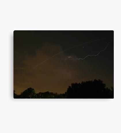 Cloud-To-Air Lightning Canvas Print