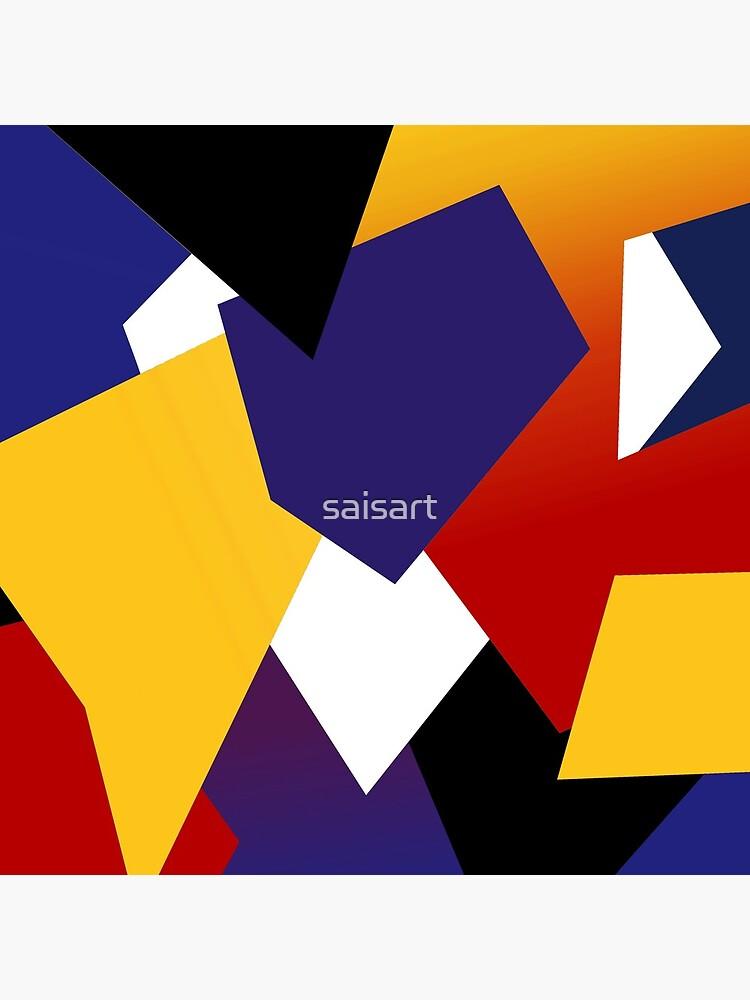 Yellow violet explosion von saisart