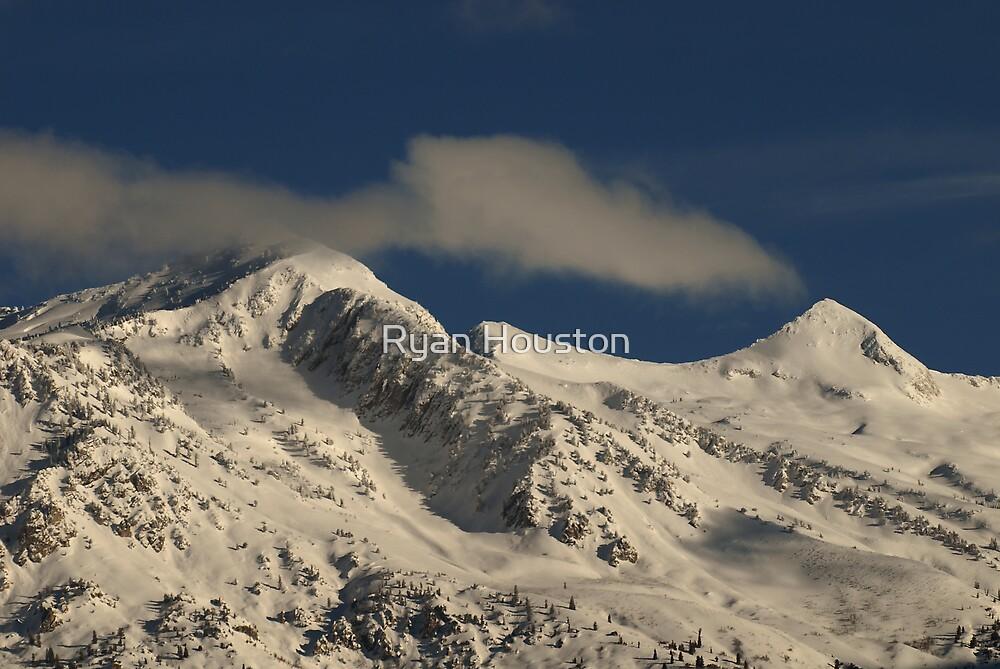Lone Peak Wilderness - Snow-Capped by Ryan Houston