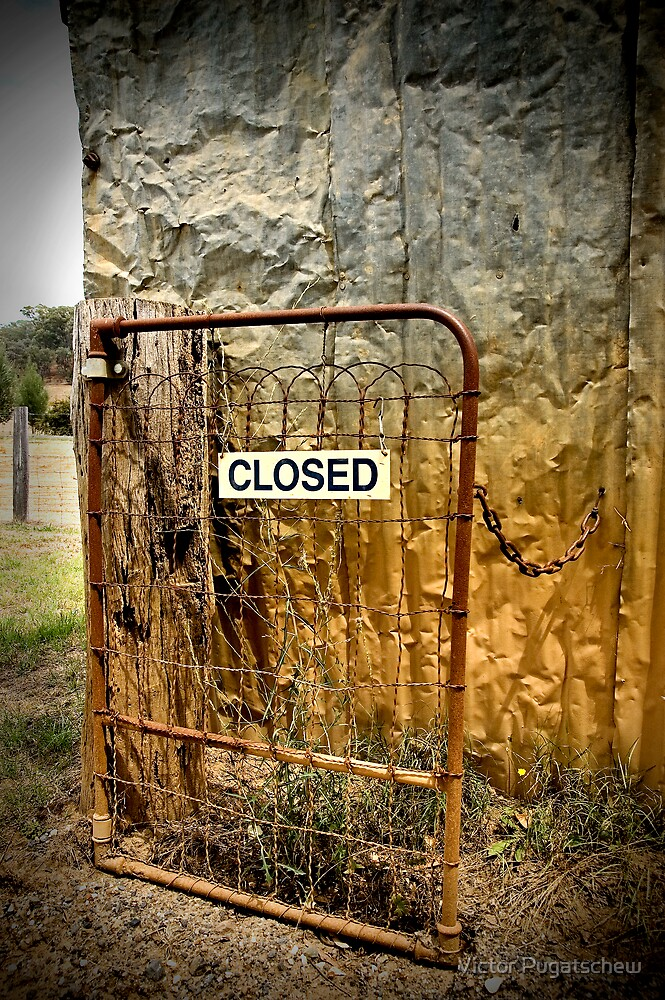 Open - but closed? by Victor Pugatschew
