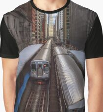 "Chicago ""L"" Graphic T-Shirt"