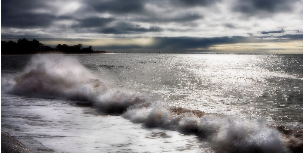 Stormy October by Dave Hare