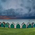 Gurnard Bay Panorama by manateevoyager