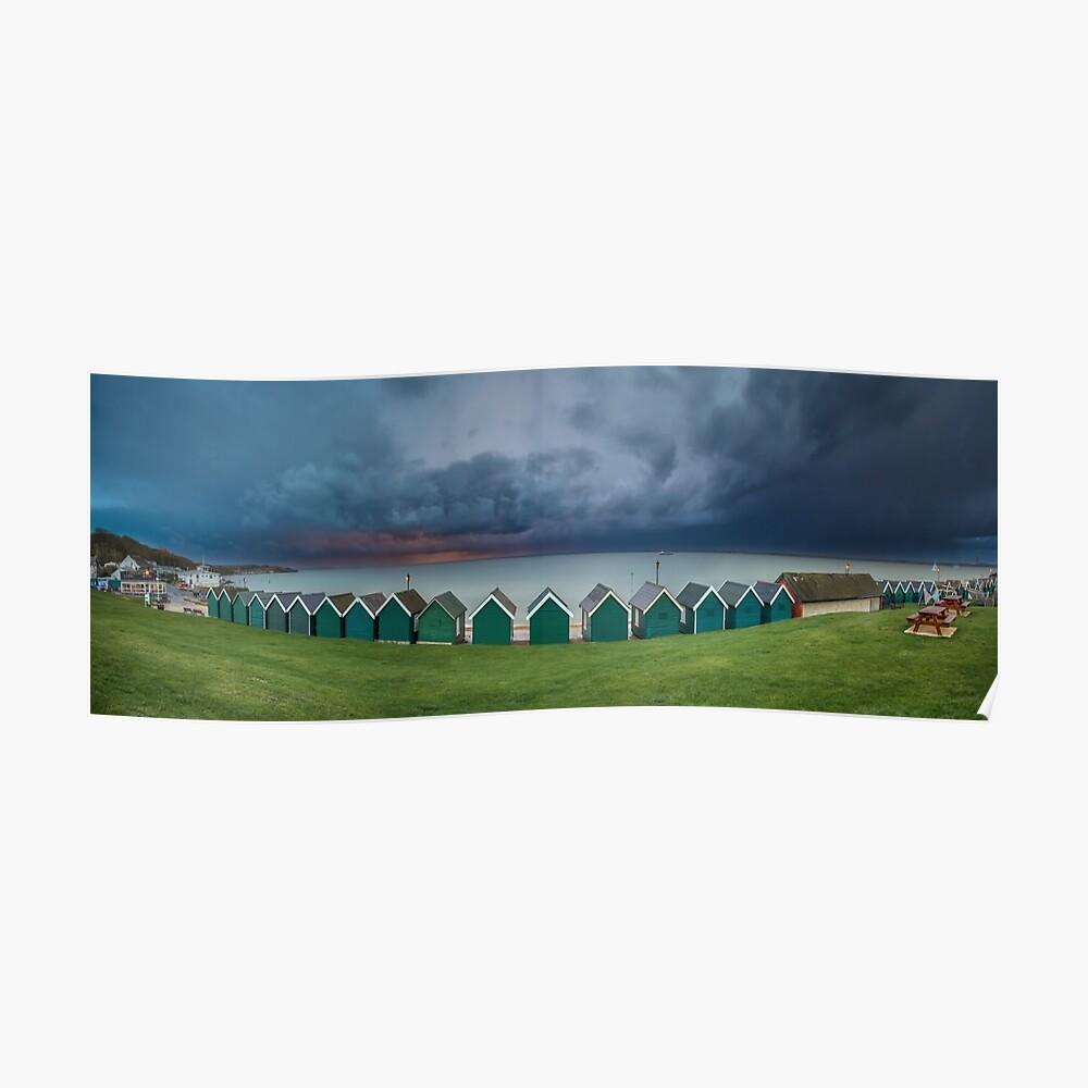Gurnard Bay Panorama Poster