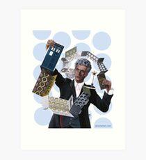 Doctor Who - 'Insert Tab Omega' Art Print