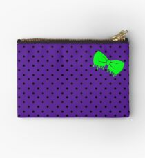 Monster Mash Drippy Bow Studio Pouch