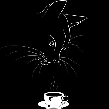 Coffee Cat by dmtab