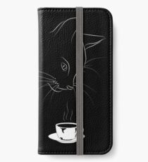Coffee Cat iPhone Wallet/Case/Skin